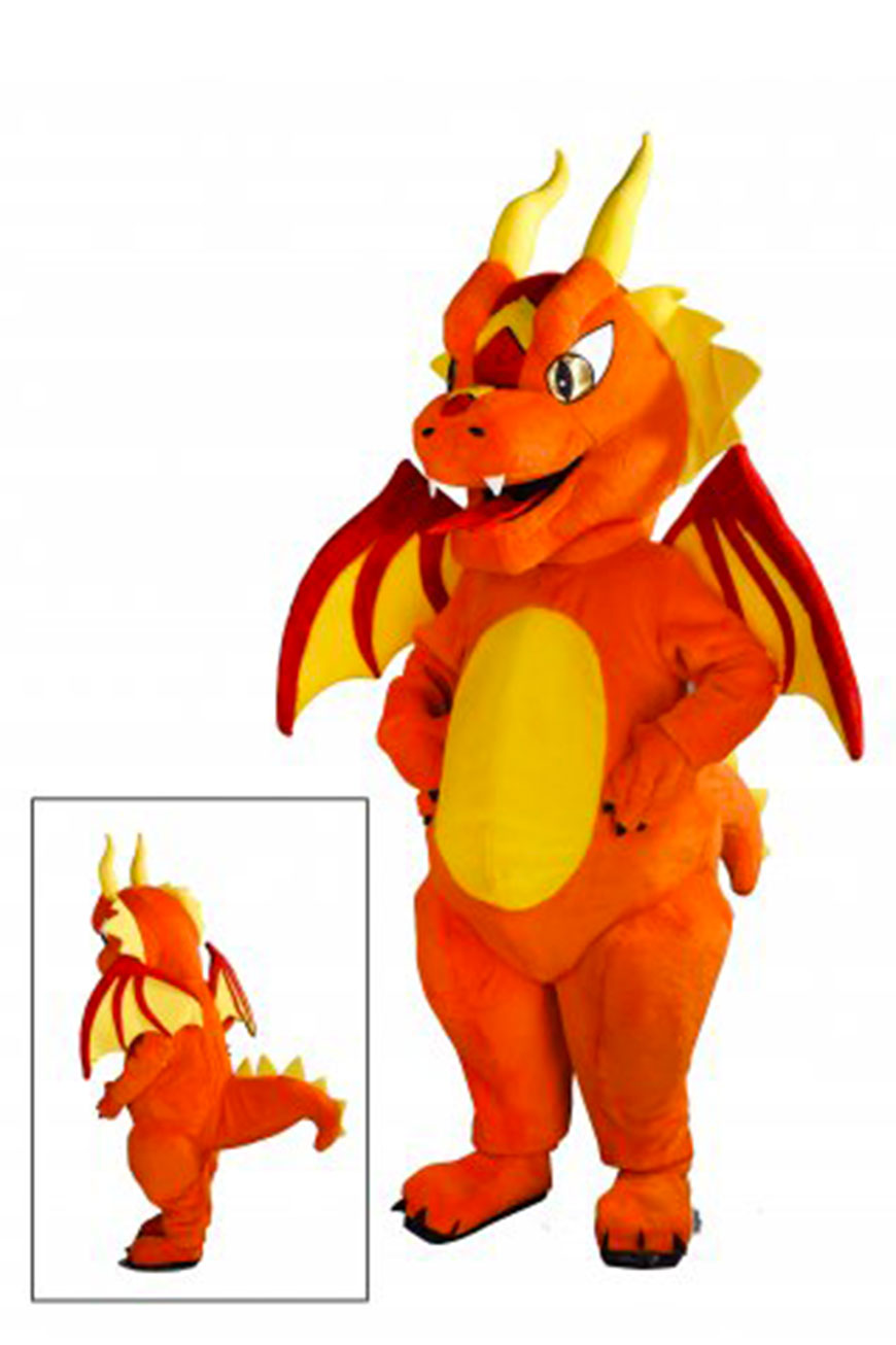 Costume mascotte de Dragon